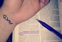 Tattoos / by Moriah DeFord