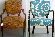 - Before and After - / by Fabrics & Furnishings