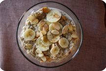 Oatmeal: The perfect start to any moring! / by Angeline Gonzales
