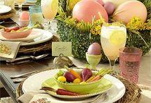 Primavera: decoraciones e ideas- Easter: decorations and ideas / by Mano Arte