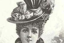 Victorian Hats / by Tiana Gustafson