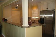 galley kitchen  / by Carrie Mulcahy