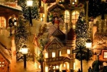 Christmas villages / by Rebecca Nordby