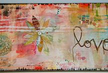 Altered Art / mixed media / by Laura Rutley-Picher