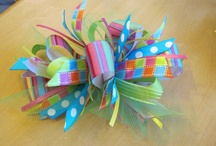 Flower Headbands/Bows / by Michele Arnold