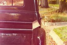 Old trucks / by Melody Reno-Ewen