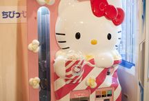 Hello kitty vending machines / by Kitty White