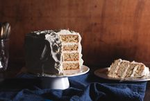 CAKE / layer cakes, cupcakes, frosting recipes and inspiration / by Sarah Crowder (punctuated. with food)
