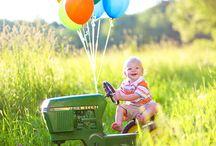 Sawyer s 1st bday ideas / by Chelsy Parker