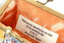 Bridesmaid Gifts / by Gaysha Algarin