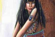 Cleopatra ❤ / by ♛Queen Of