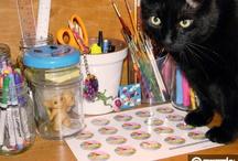 Zazzle / www.zazzle.com/evilcatarts / by Evil Cat