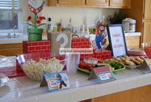 PARTY IDEAS - Super Mario Brothers / by Twin Dragonfly Designs