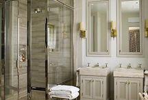 Bathrooms / by Bridget Beari Designs