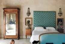 Slaapkamers en decoratie / by Linda Lenders