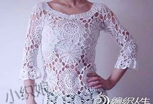 blusas tejidas al crochet / by clara martinez