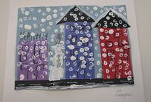 Kindergarten Art Project Ideas / by Therese Perdue