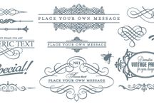 Design elements / by Last Minute Printables
