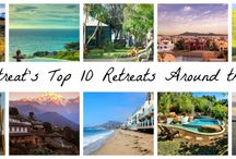 TOP 10 RETREATS AROUND THE WORLD / Our friends at Seek Retreat have put together this list of their top 10 retreats around the world to help you dream a little dream & unleash your vagabond ways. / by Lorna Jane