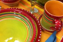 Beautiful Dishes my favorite thing. / by Jackie Hodgkins Fernandez