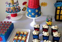 Superhero birthday party / by Maggie Mesa