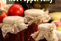 Jam On It! / Found some yummy Jams & Jelly recipes. We go beyond the PB-n-J here. Lots of tips and 'how-to', it's really easier than you think and quite fun!  In addition to the traditional flavors, some other here to try with cheeses, or even as a sauce for pizzas! - Shellie Hart / by Today's Warm 106.9