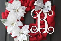 Sold-Wreaths / Variety of different wreath styles / by Tina Marie