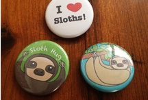 Sloths are the next trend... really / Forget owls and mustaches--- Nothing can beat a sloth. / by Maryland Quilter