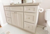 Bathroom Vanity Cabinets / CliqStudios' cabinets are featured in this board to showcase how you can create beautiful semi-custom bathroom vanities and storage. / by CliqStudios Cabinets