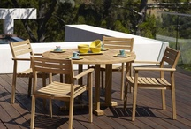 Gloster Outdoor Furniture - New Collections for 2012 / Gloster is firmly established as one of the most recognized names in quality outdoor furniture, with over 300 product lines and a world-wide distribution network.  / by AuthenTEAK Outdoor Living