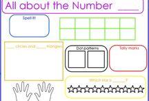 Math/calendar ideas / by Katie Edwards