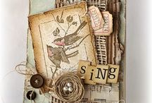Paper Crafting Inspiration / Book Page Art ~ Stamping ~ Card Making ~ & More! / by Diane Miller | AnExtraordinaryDay