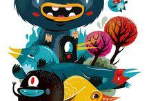 Illustration / by Saulo Aroca