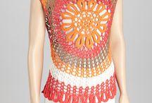 crochet:blusas,túnicas,tops... / by Regina Azevedo