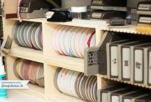Craftrooms and Organisation / by maromos bastelraum