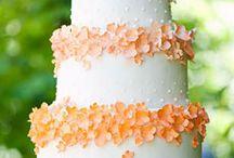Wedding Cake Orange / by Satin Ice