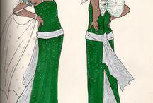 Fashion drawing type / by Tatianna Johannes