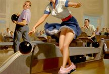 The Panty Drop Scene ~ Art Frahm / by Art of the Pin-Up Girl