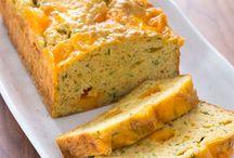food - savory bread / by Ilona Belous