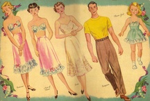 paper dolls / by Phyllis White Shows