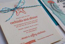 Invitation Ideas / by Jill Harmer