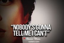 Bruno Mars ❤️ / Bruno Mars / by Donna Amerson
