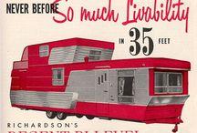 vintage campers/trailers / by Jan Cabe Moore