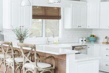 white kitchen / by Caroline