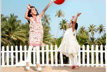 BIBA Girls Spring/Summer 2013 Campaign / by Biba India