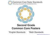 Second Grade Common Core / Second Grade Standards, Second Grade Common Core Standards, Second Grade Core Standards, 2nd Grade Common Core Standards, 2nd Grade Standards / by Common Core Standards