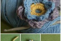 Crochet flowers / by lanie reeder