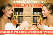 Spa Week Giveaways / Our fabulous gift cards, giveaways and promotions.  / by Spa Week