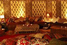 my cozy bedroom / by Nurtured Mama