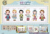 Cross Stitch Korean Designs / Korean cross stitch / by Velle Mere Lyons